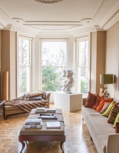 Main Living Room with Bay Window