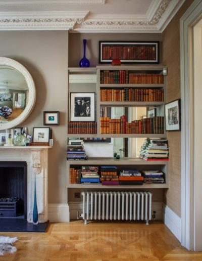 Book Shelves in Main Study
