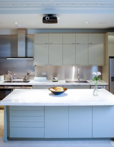 Contemporary Kitchen in Classic Home