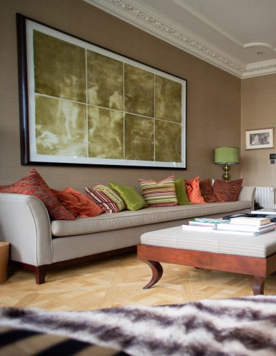 Living Area with Cornicing