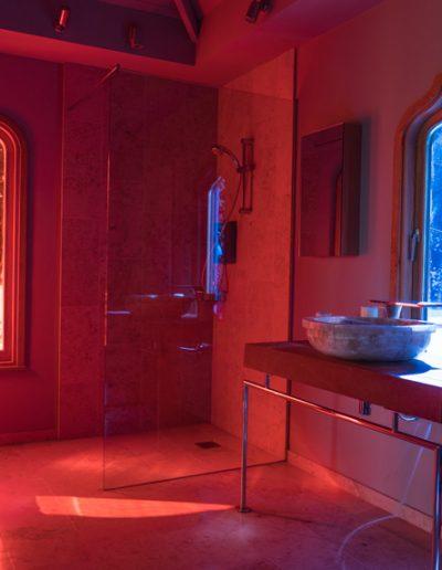Moorish wet room