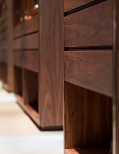 Bespoke wooden drawers