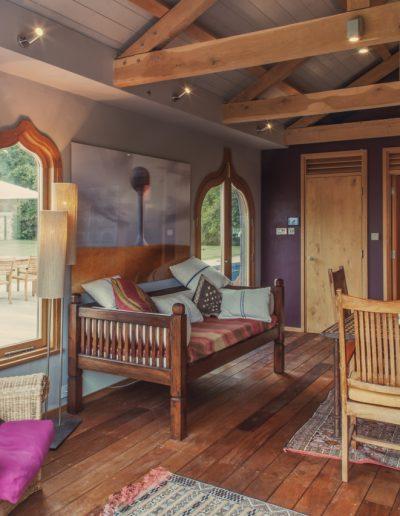 Moorish summer house interior