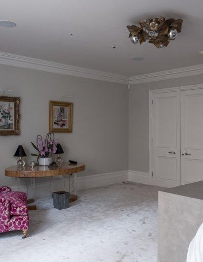 Master bedroom to doorway